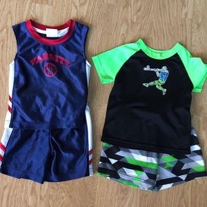 Set of 2 Athletic Boy Outfits